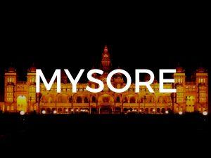 Mysuru / Mysore Land Use Map