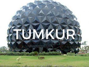 Land Use map of Tumkur